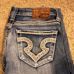 Size 25 Big Star Jeans